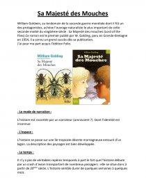 dissertation sa majesté des mouches