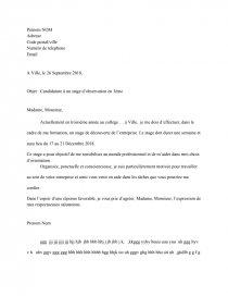 Download 26+ Exemple De Lettre De Motivation Pour Un ...