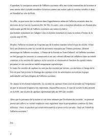 associé et affectio societatis dissertation