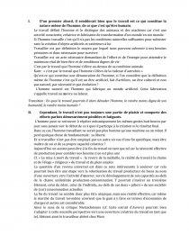dissertation philosophie le travail dénature t il lhomme